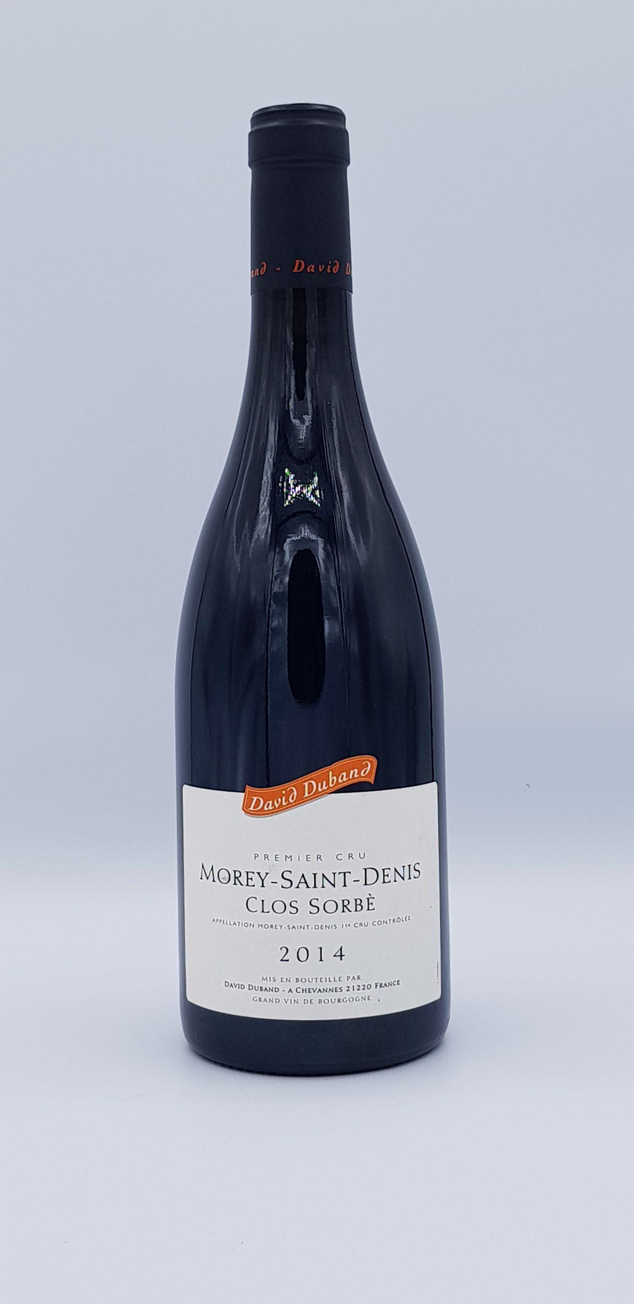 """Morey Saint Denis 1er Cru """"Clos Sorbe"""" 2014 Rouge"""