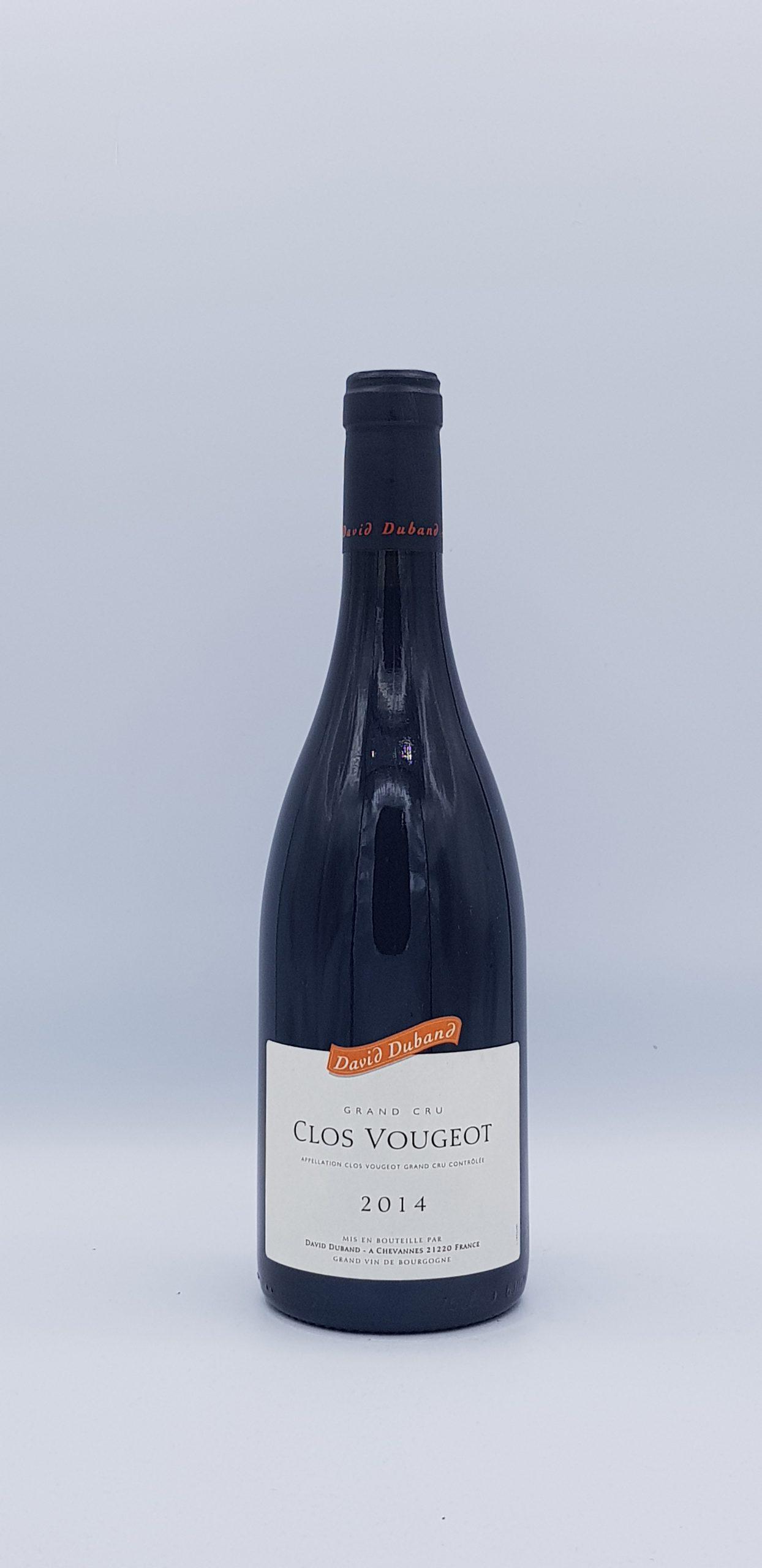 Clos Vougeot Grand Cru 2014