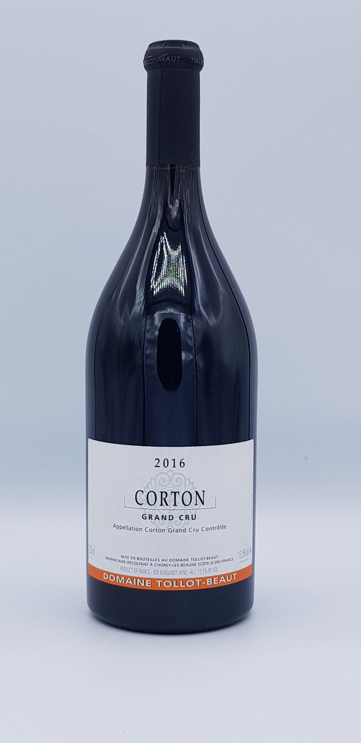 Corton Grand Cru 2016 Dom Tollot Beaut