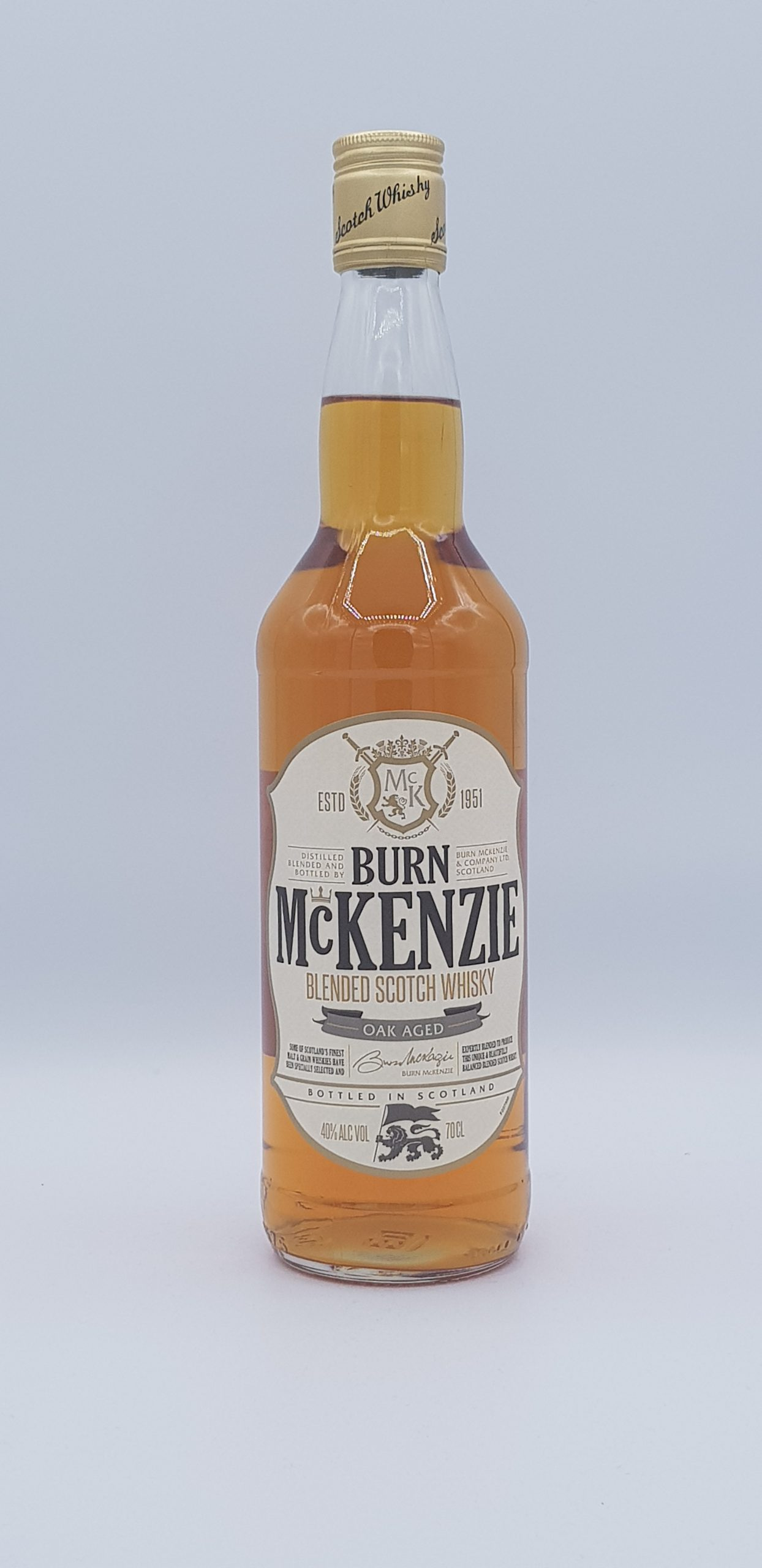 Whisky Burn Mc Kenzie Blended Stoch Whisky 70 cl