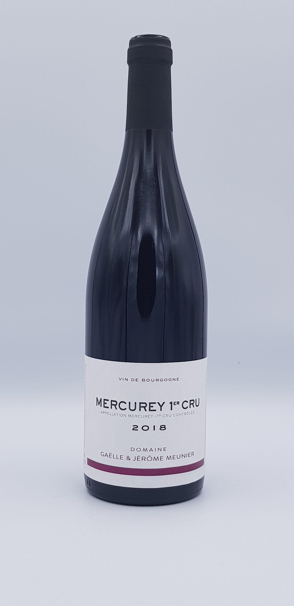 Mercurey 1er Cru 2018 Rouge