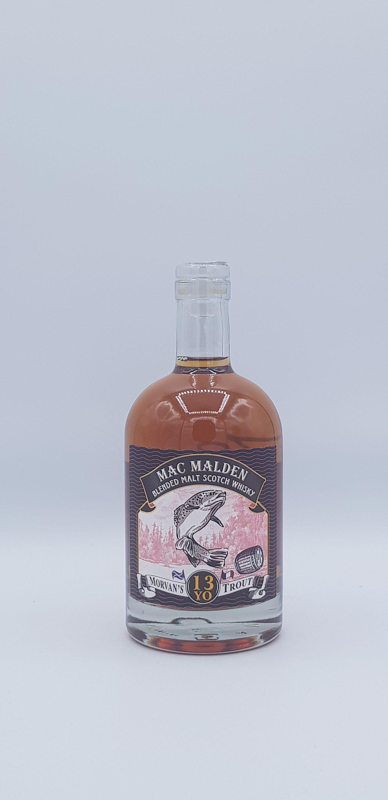 Whisky Morvan'S Trout 50 cl Mac Malden