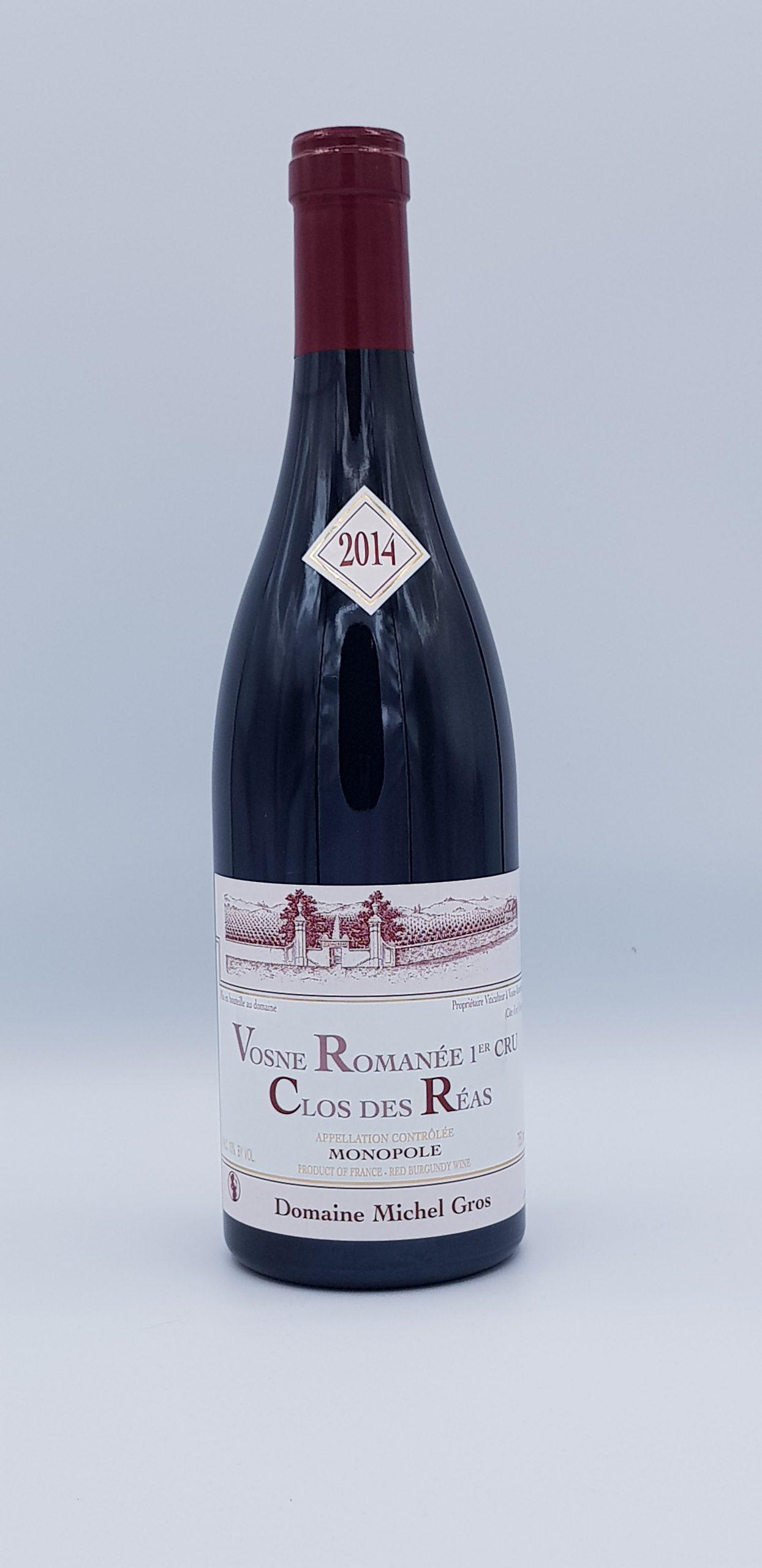 """Vosne Romanee 1er Cru """"Clos Des Reas"""" 2014 Rouge"""