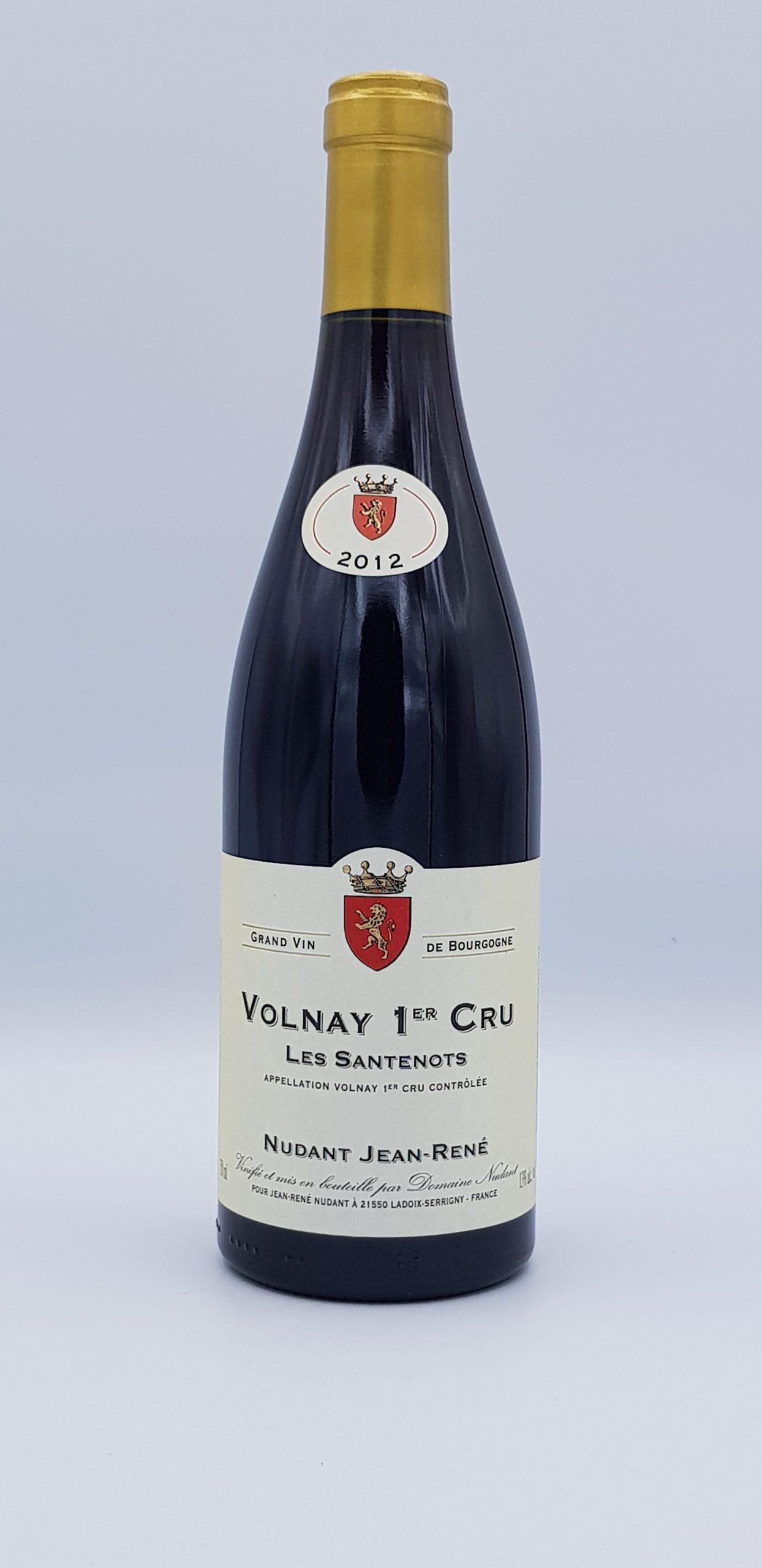 """Volnay 1er Cru """"Les Santenots"""" 2012 Rouge"""