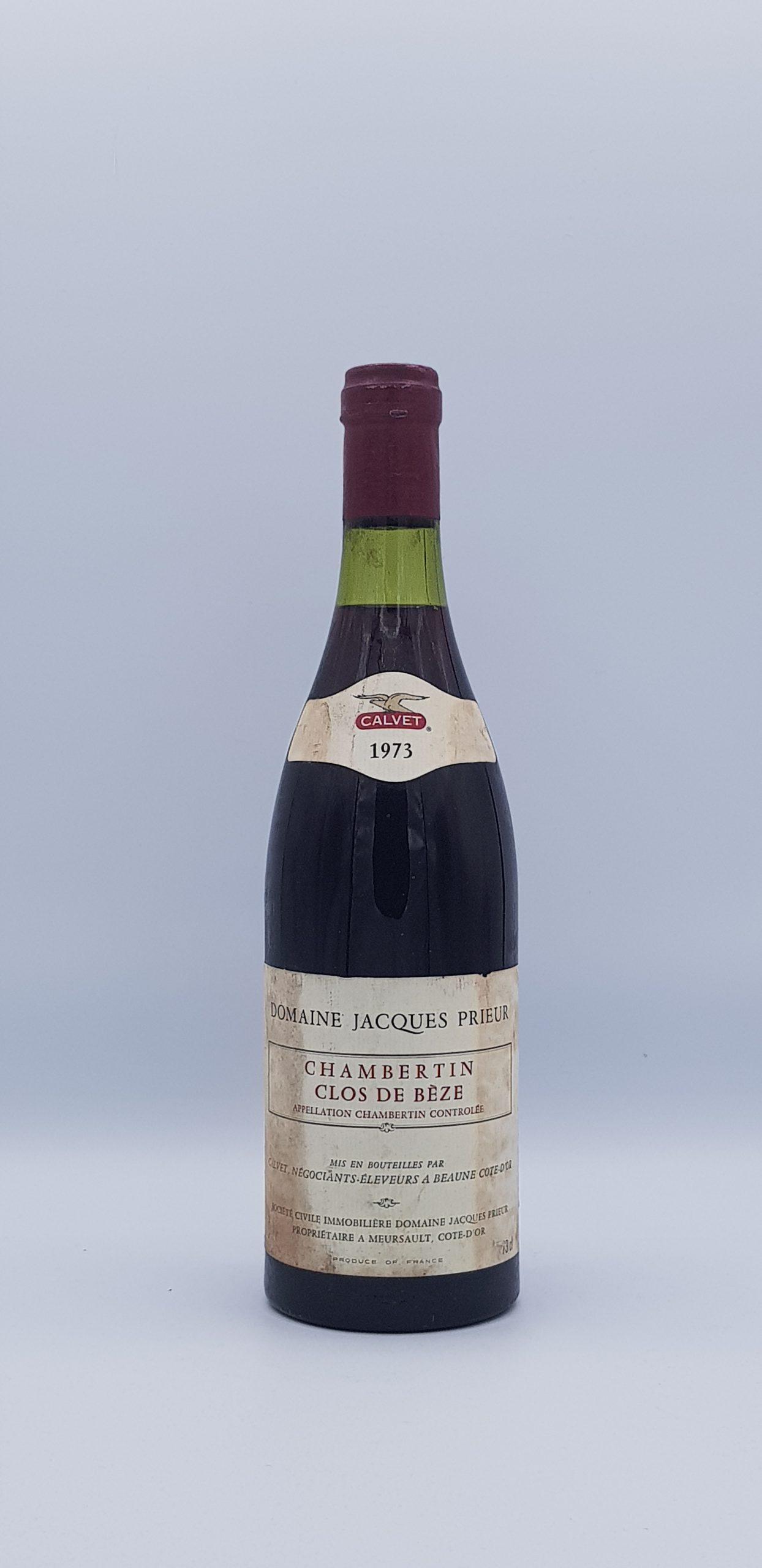 Clos de Beze Grand Cru 1973 Rouge