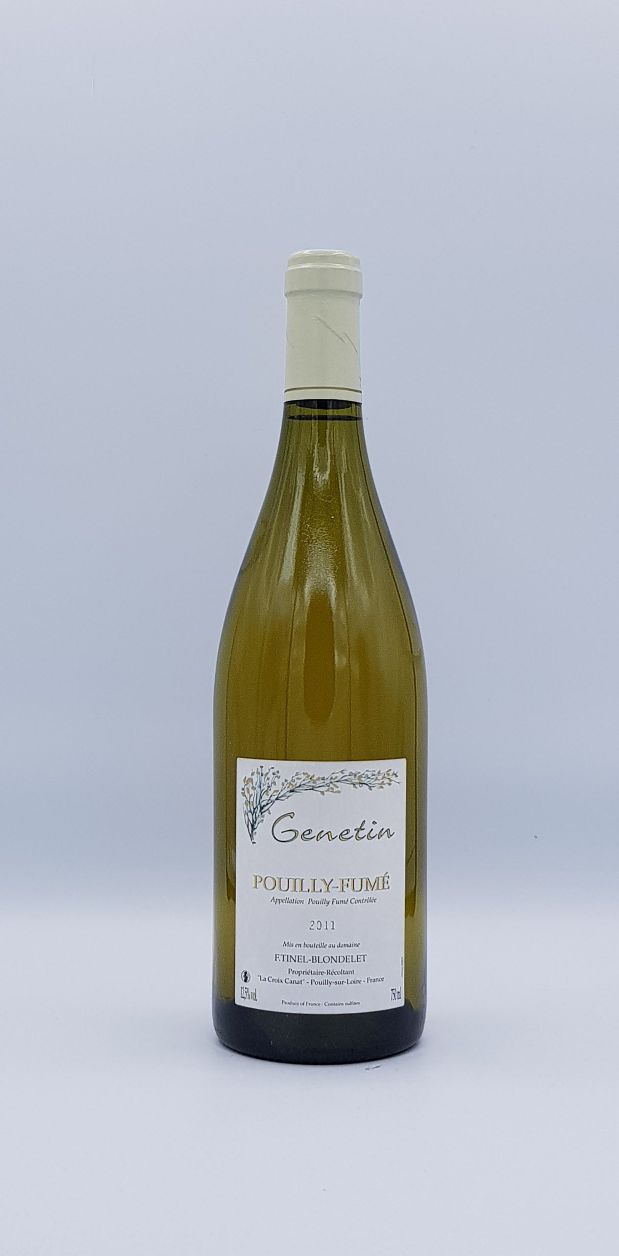 "Pouilly Fume ""Genetin"" 2011 Blanc"
