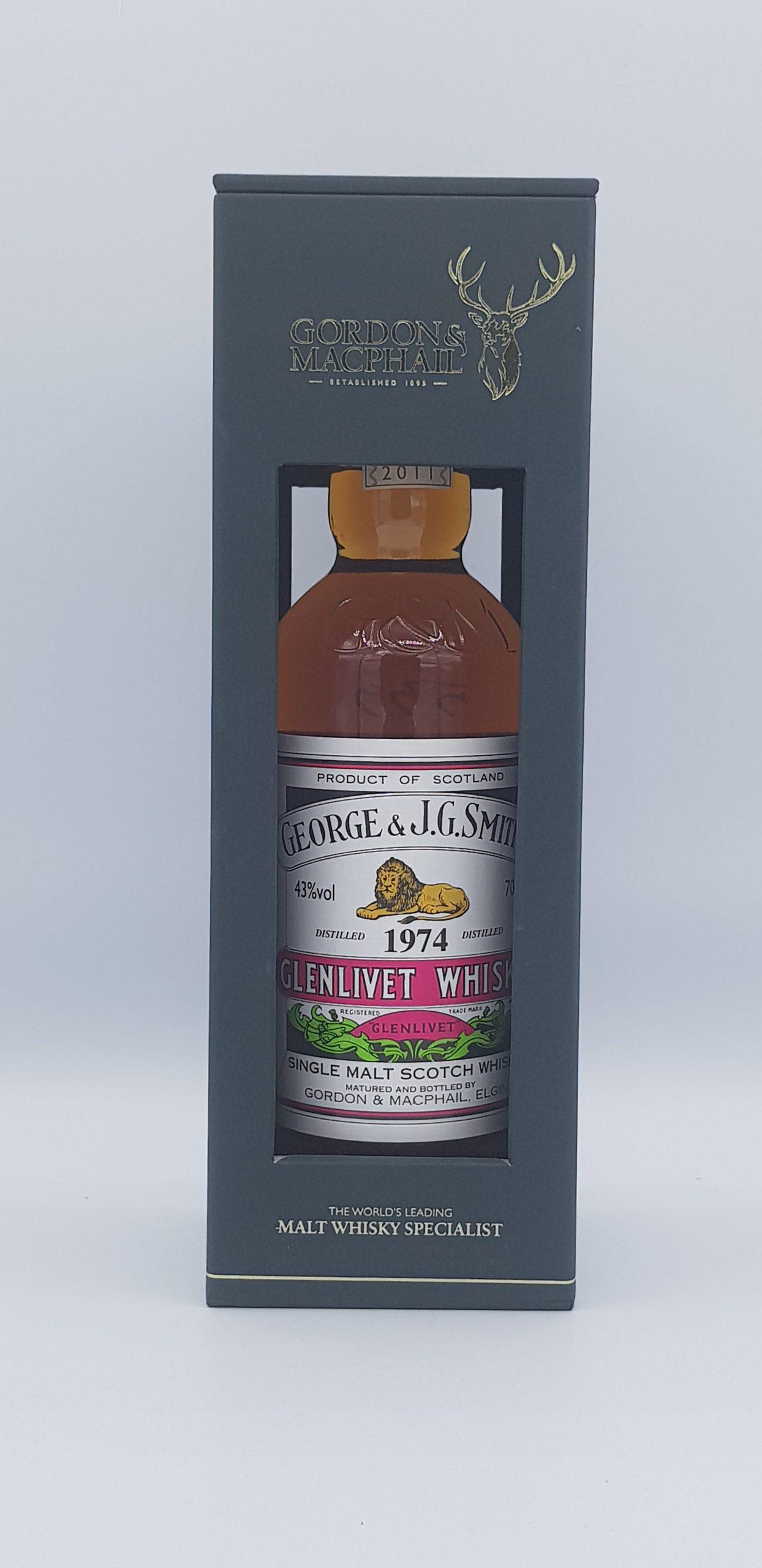 Whisky Glenlivet 1974