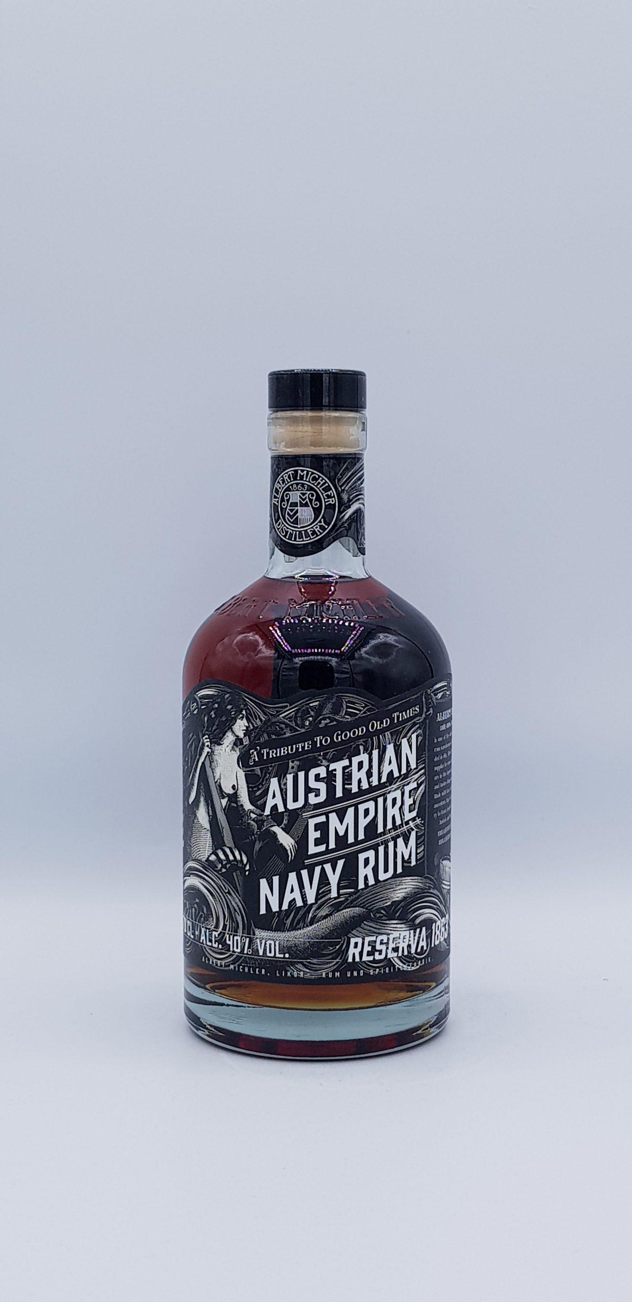 Rhum Austrian Navy Reserva 1863 40°