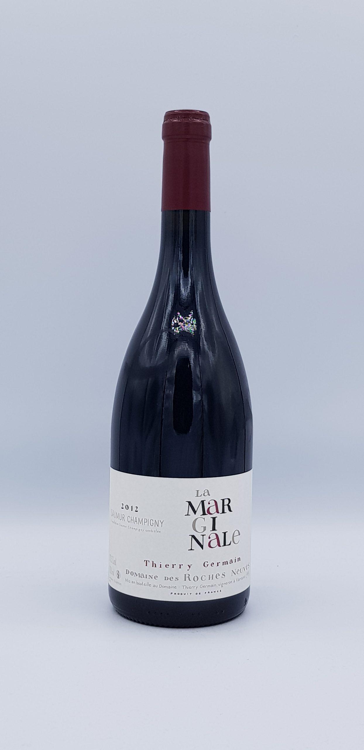 """Saumur Champigny """"La Marginale"""" 2012 Rouge"""
