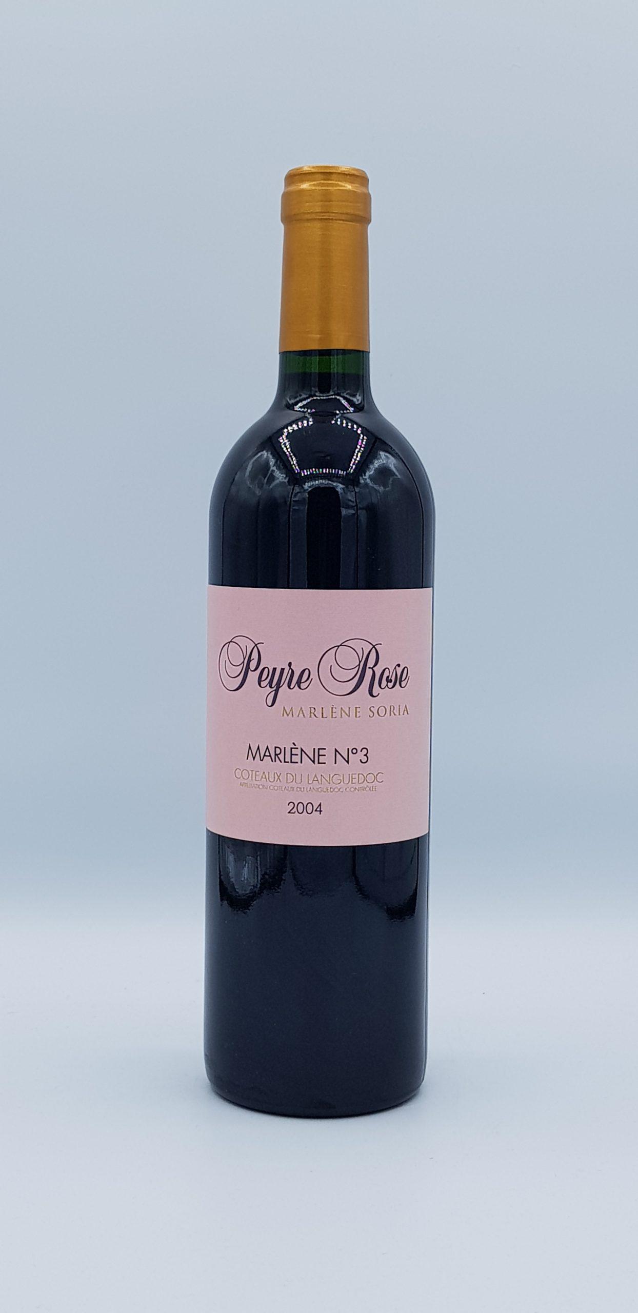 Coteaux Du Languedoc Marlene N°3 2004 Rose