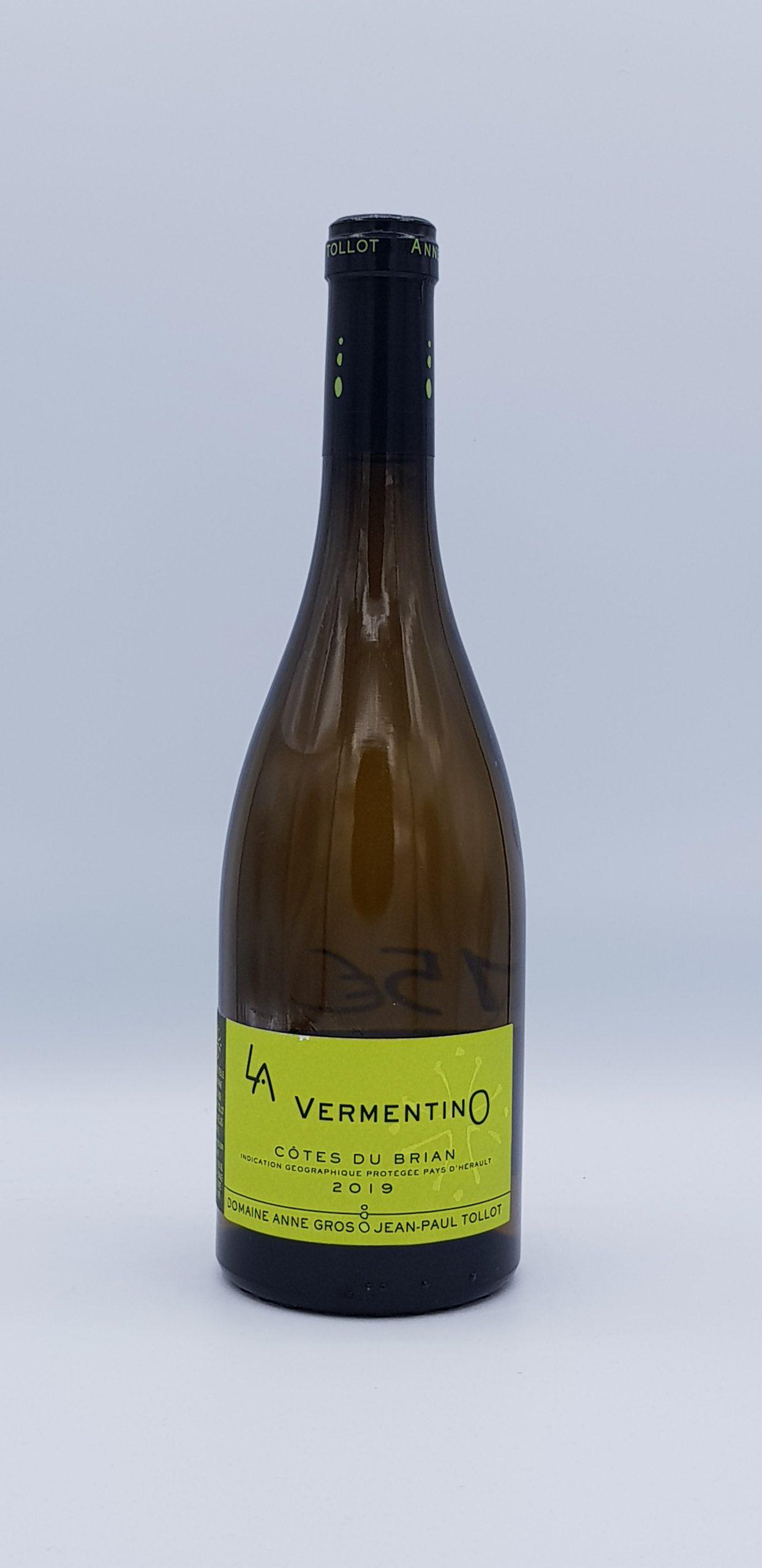 """Côtes du Briand """"Vermentino"""" 2019 Blanc"""