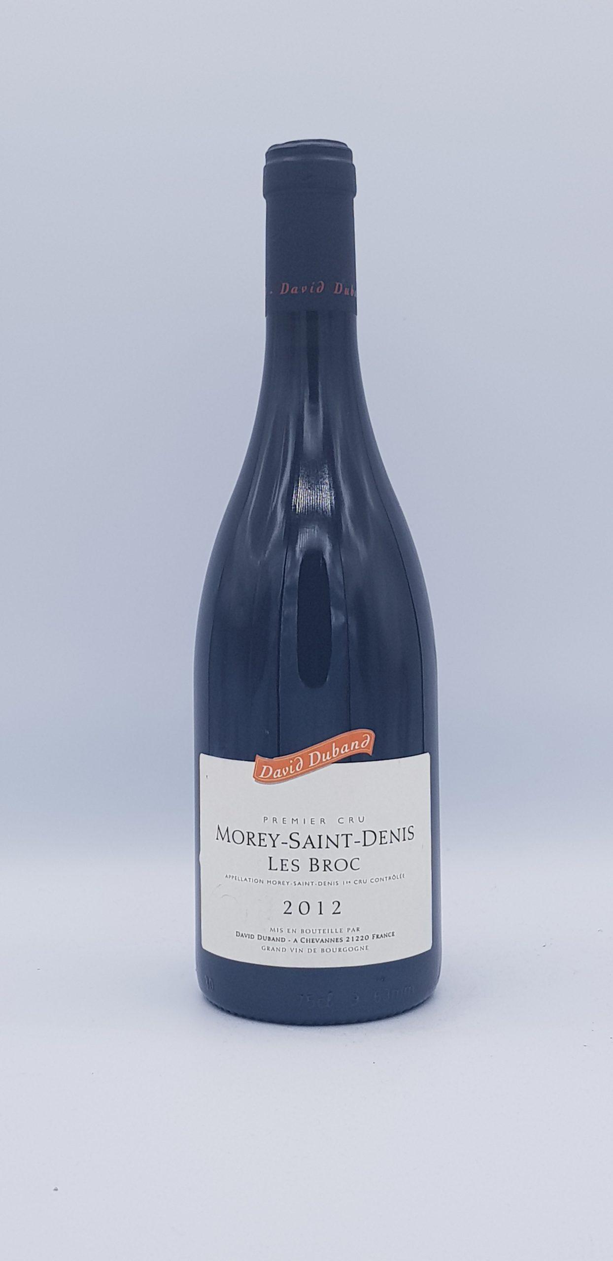 """Morey Saint Denis """"Les Broc"""" 2012 Rouge"""
