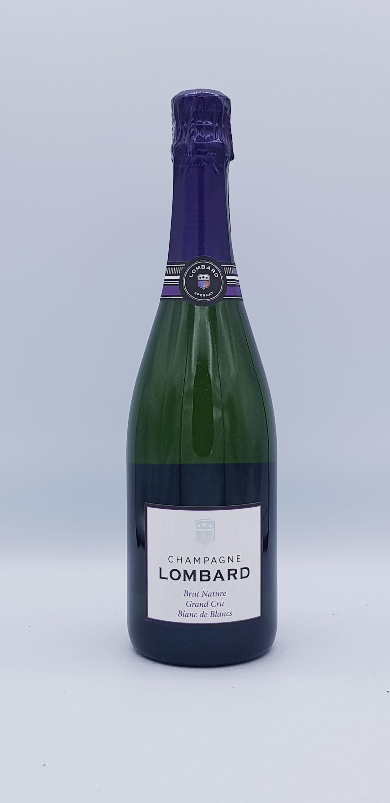 Champagne Lombard Brut Nature Grd Cru Bdb