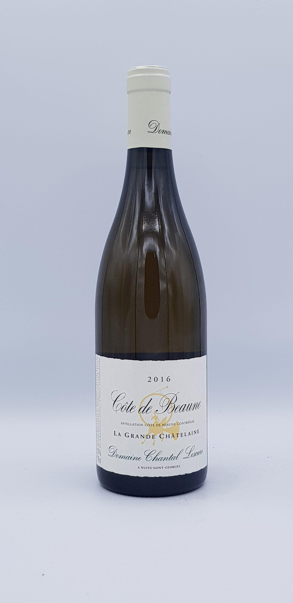 """Côte De Beaune 2016  """"Grande Chatelaine""""  Blanc"""