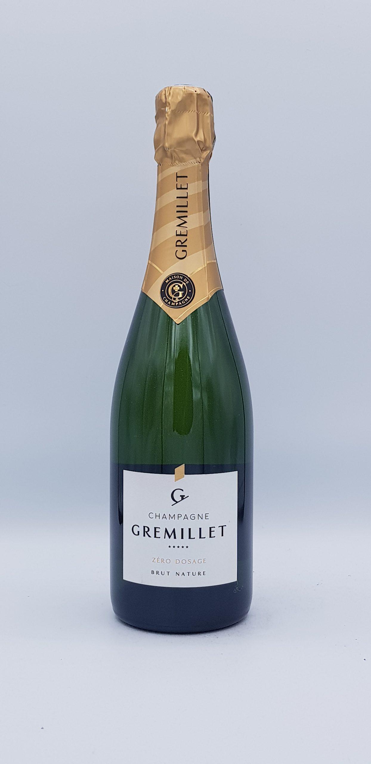 Champagne Gremillet Brut Nature