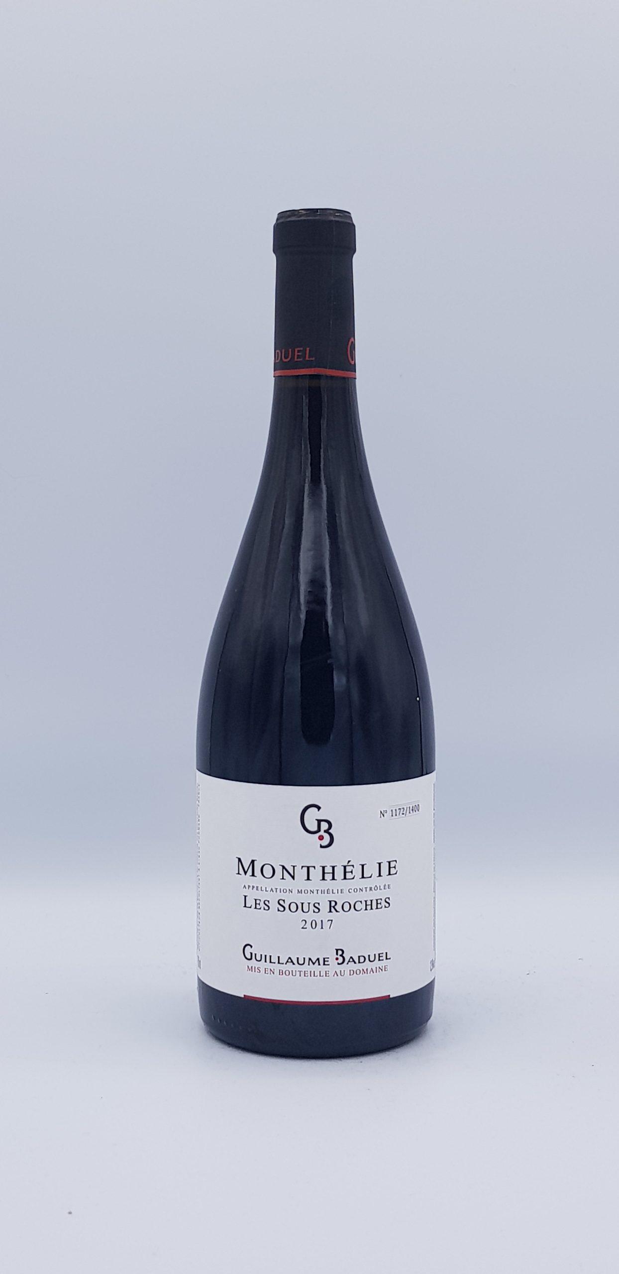 """Monthelie """"Sous La Roche"""" 2017 Rouge"""