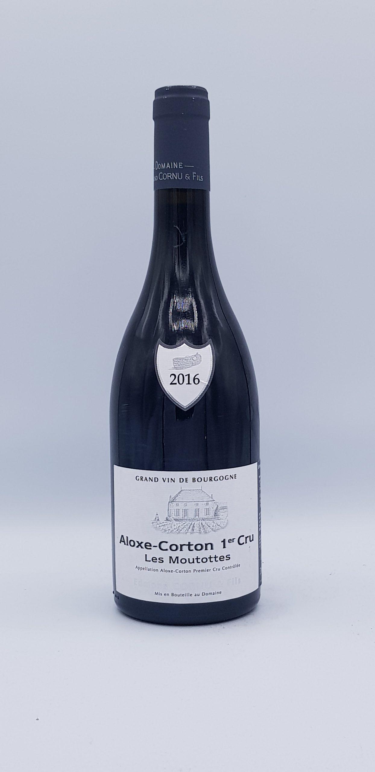 """Aloxe Corton Rouge 1er Cru """"Les Moutottes"""" 2016"""