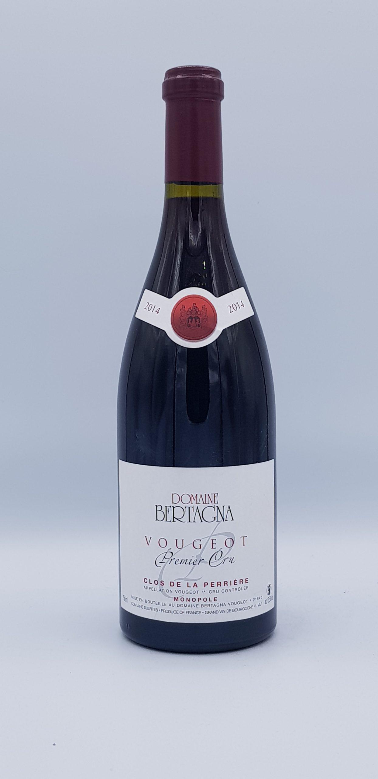 """Vougeot 1er Cru """"Clos De La Perriere"""" 2014 Rouge"""