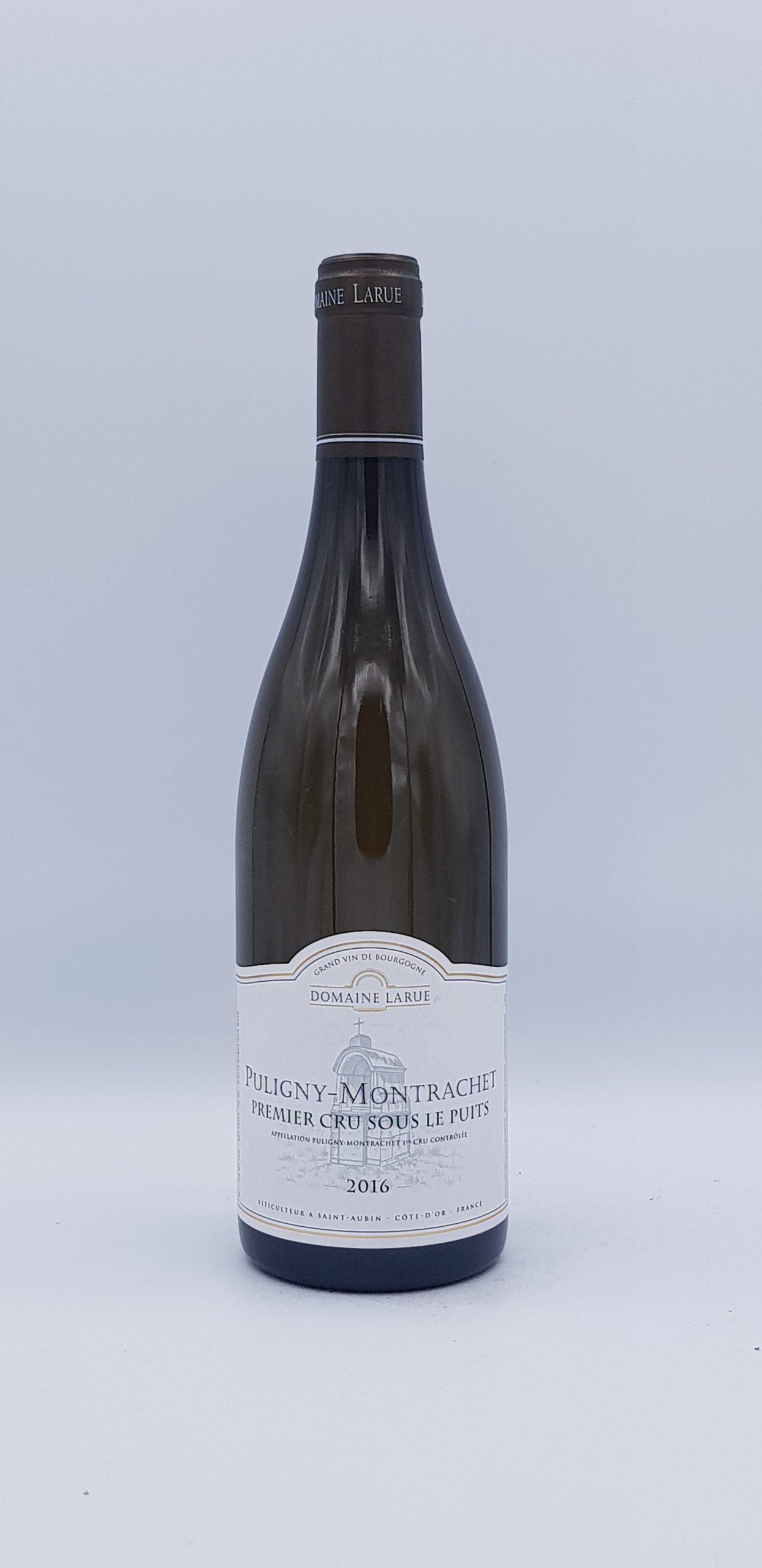 """Puligny Montrachet 1er Cru """"Sous Le Puits"""" 2016 Blanc"""