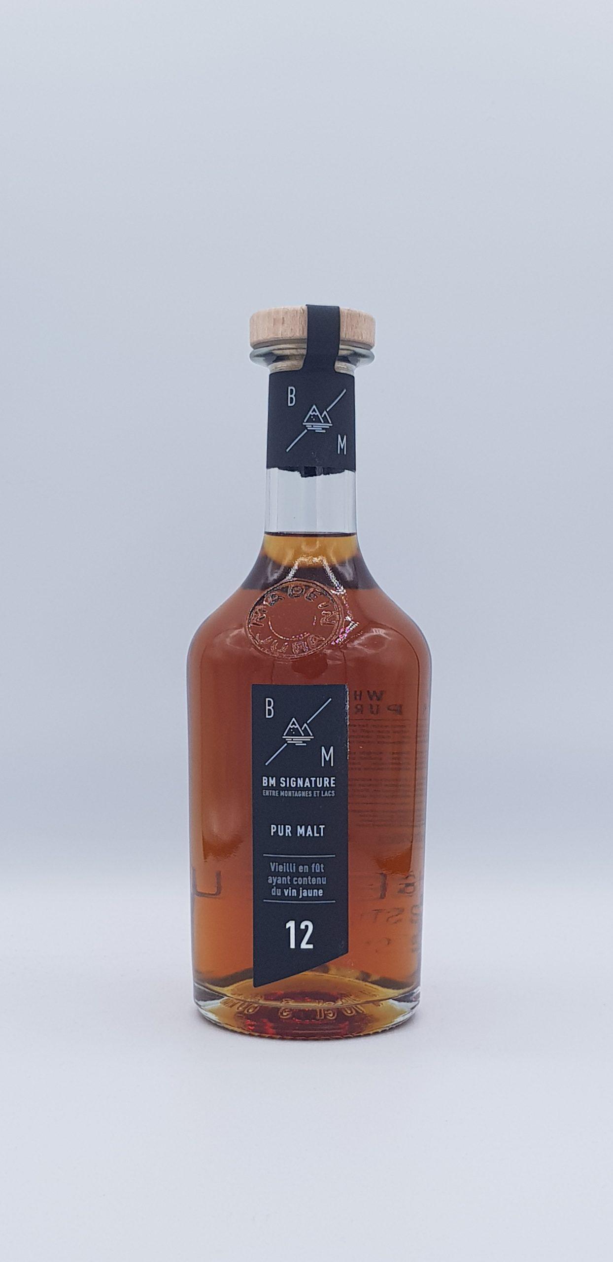 Whisky Bm Signature Pur Malt Vin Jaune 12 ans