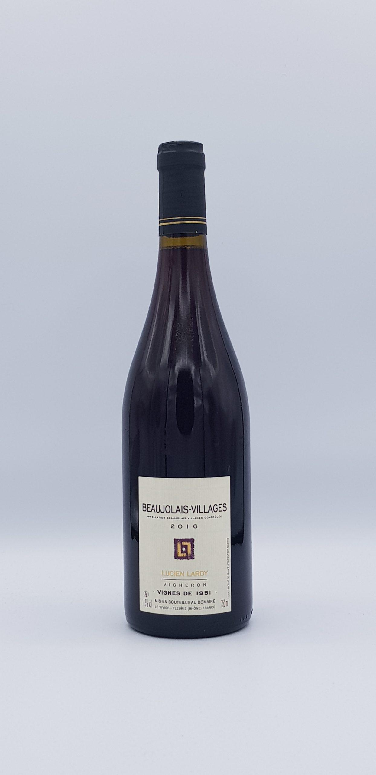 "Beaujolais  ""Vignes 1951"" 2016"