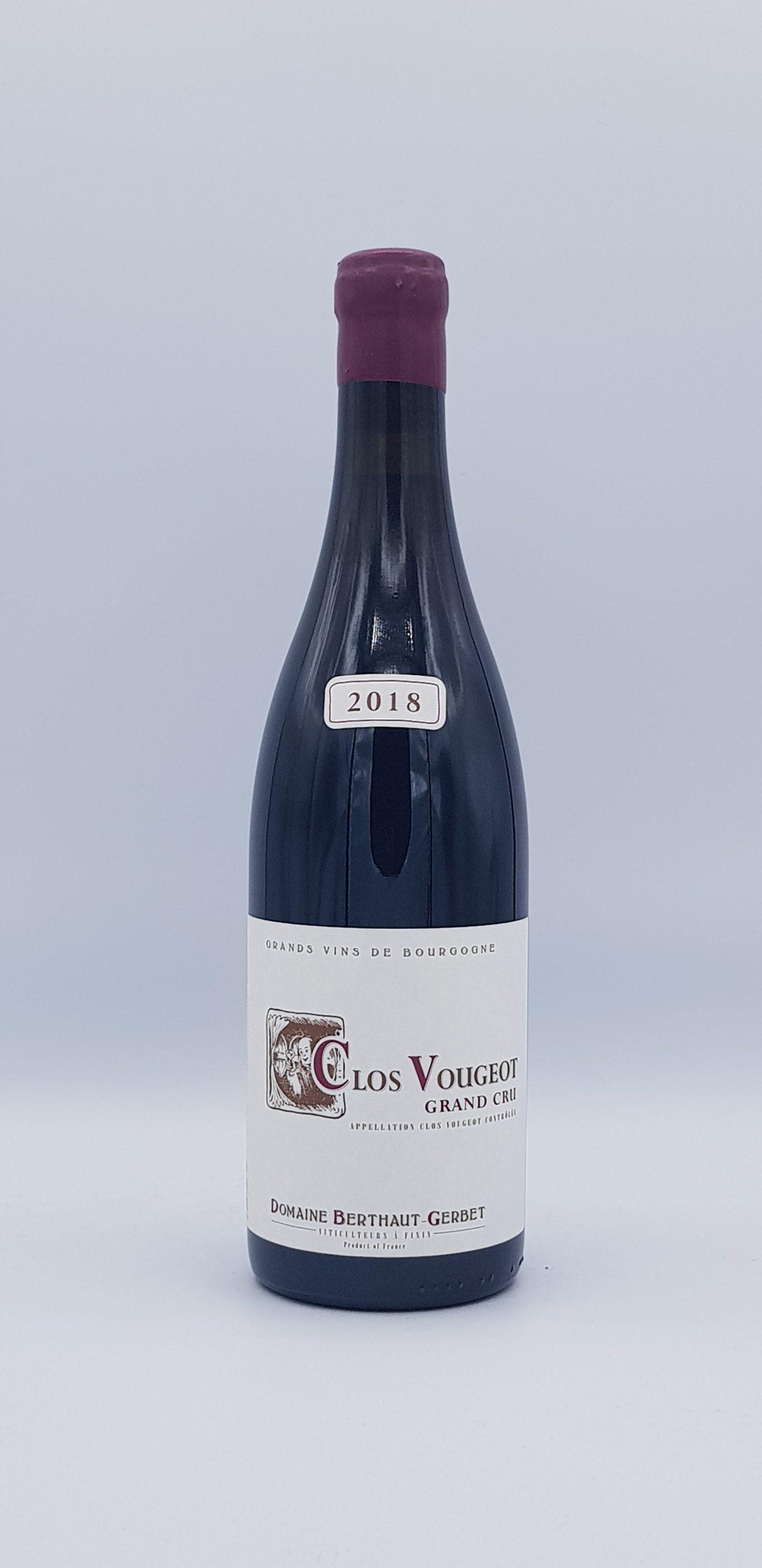 Clos de Vougeot Grand Cru 2018