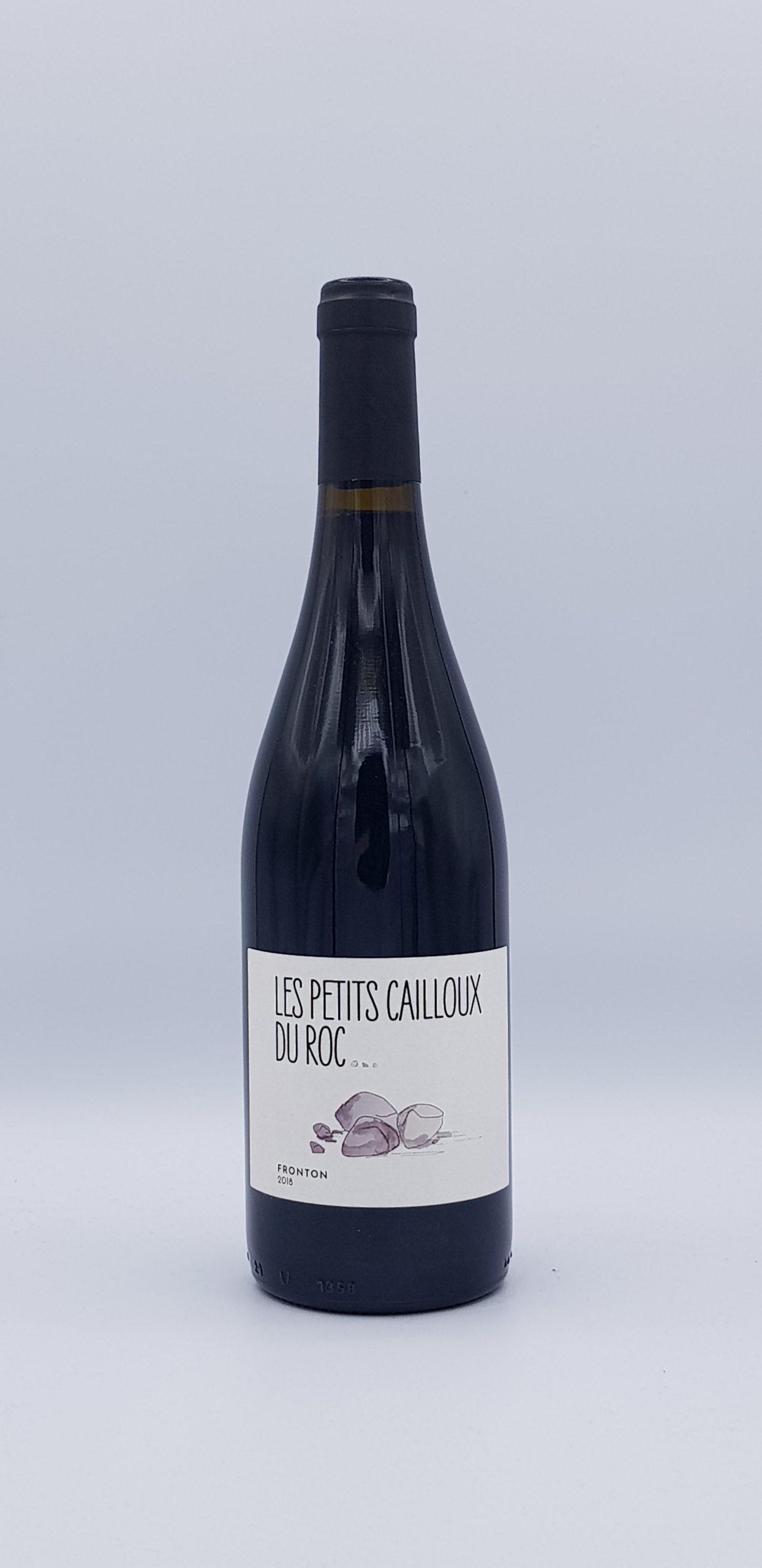 """Fronton """"Les Petits Cailloux du Roc"""" 2018 Rouge"""
