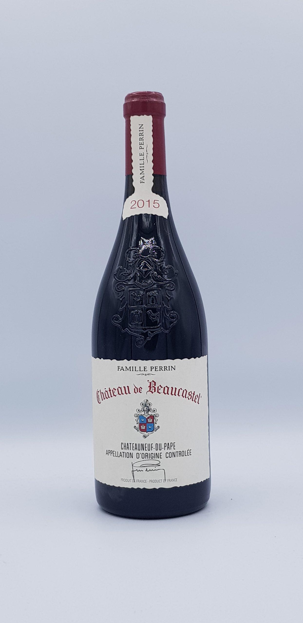 Rhone Jero Chateauneuf Du Pape 2015 Rouge Domaine Beaucastel
