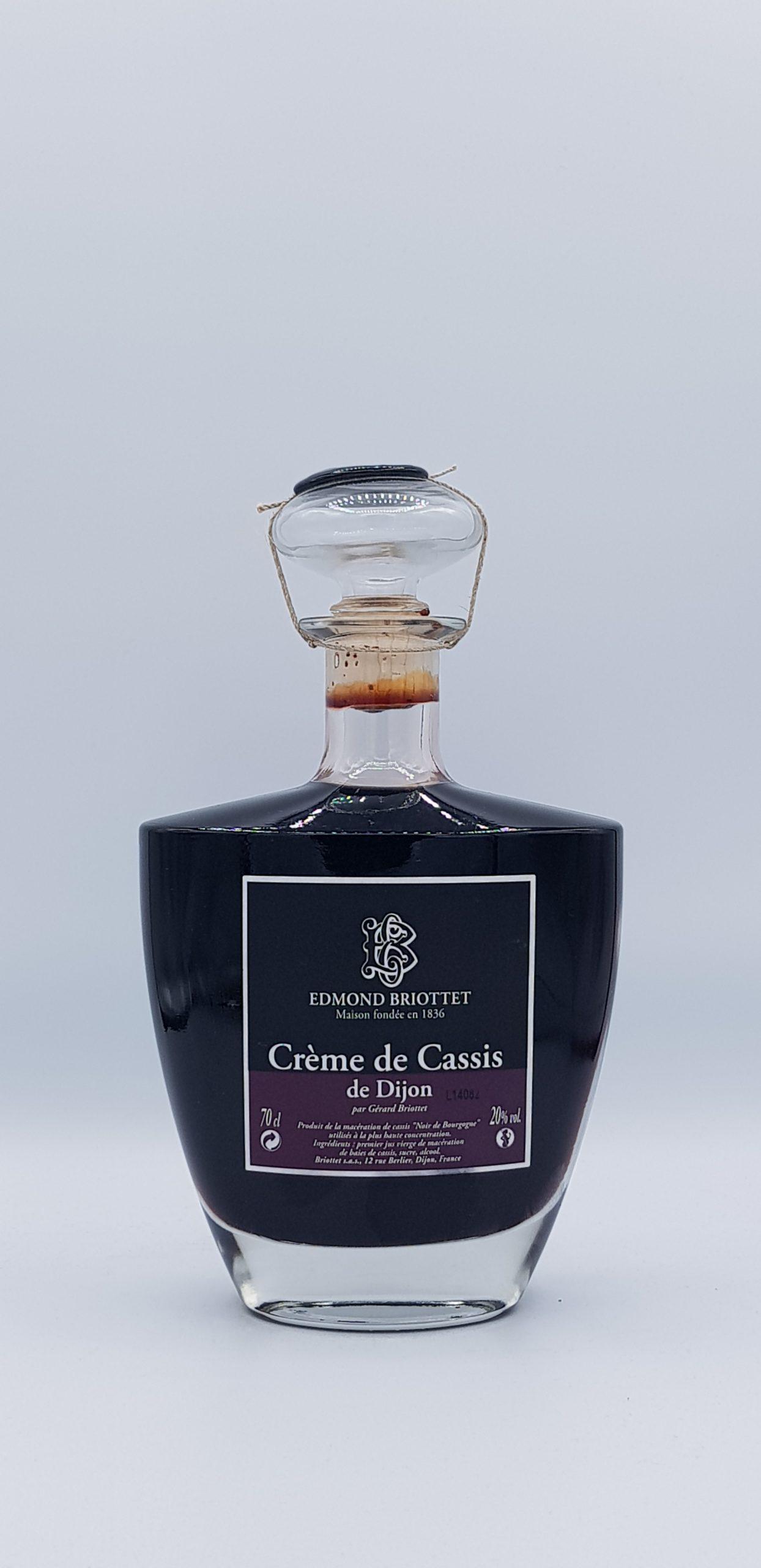 Creme De Cassis Etui Carafe Briottet