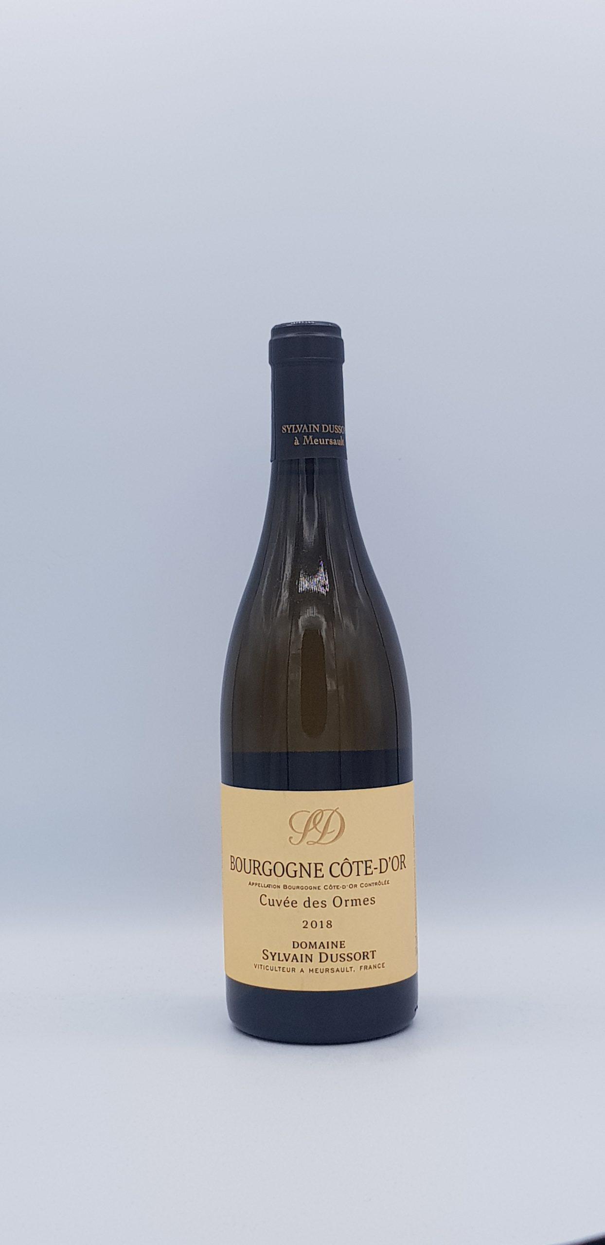"Bourgogne Cote d'Or ""Cuvée des Ormes"" Blanc 2018"