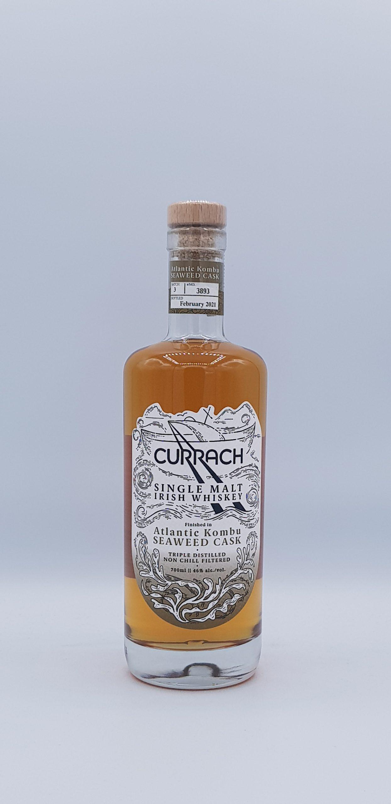 Currach Single Malt Irish Whiskey Kombu Cask 46° 70cl