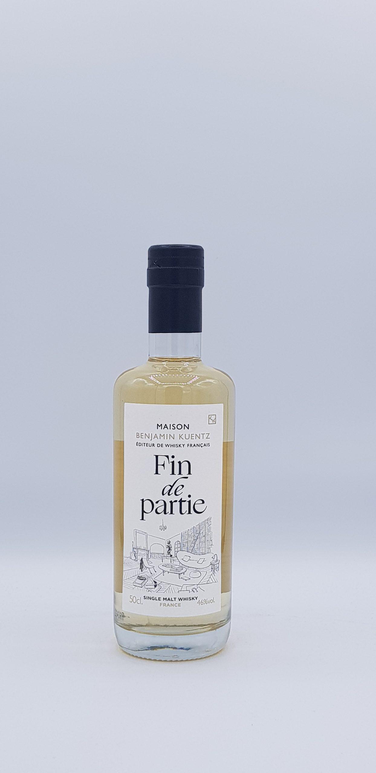 """Whisky Kuentz D'un Verre """"Fin de Partie"""" 46° 50cl"""