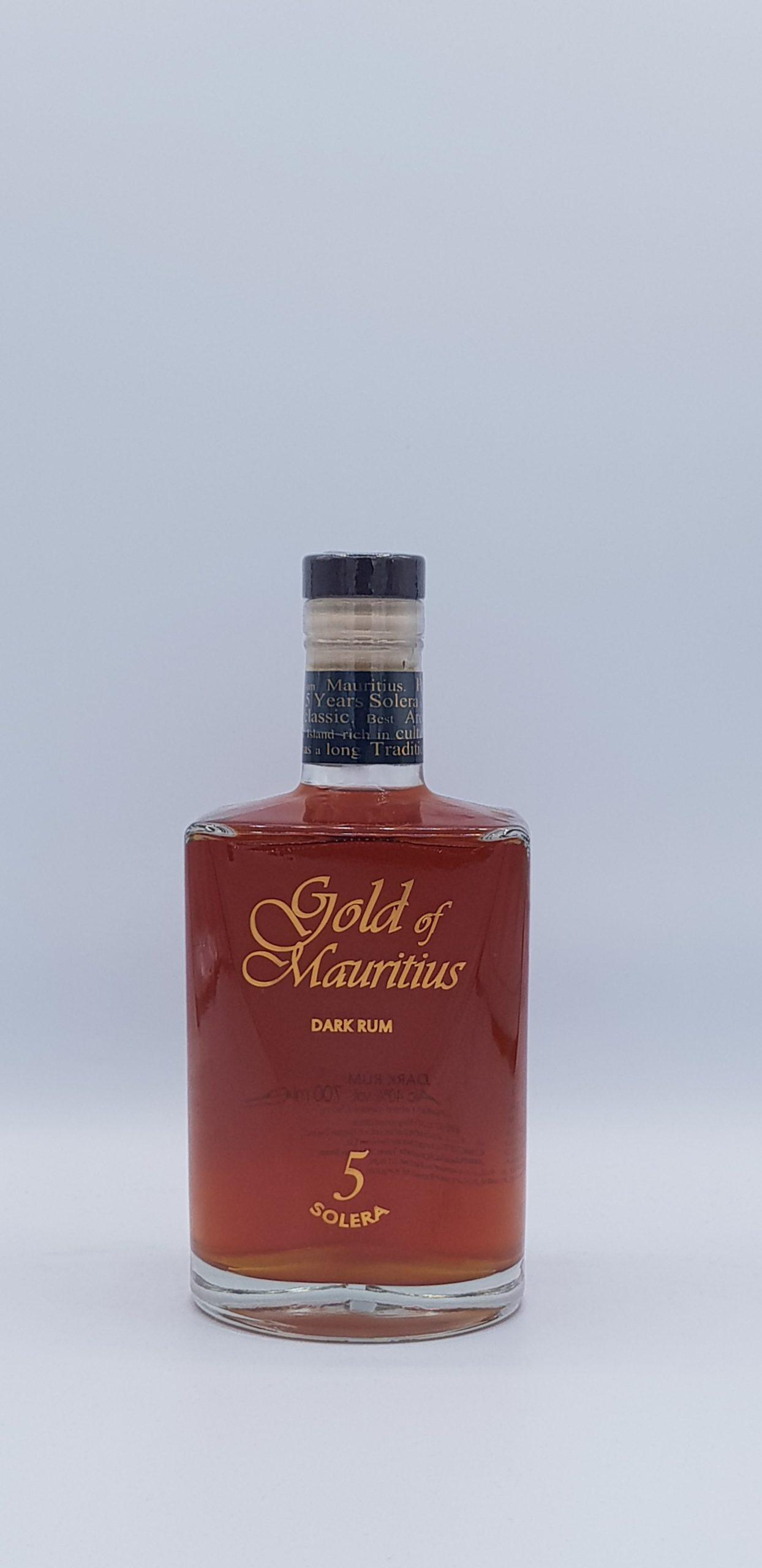 Rhum Gold Of Maritius Solera 5