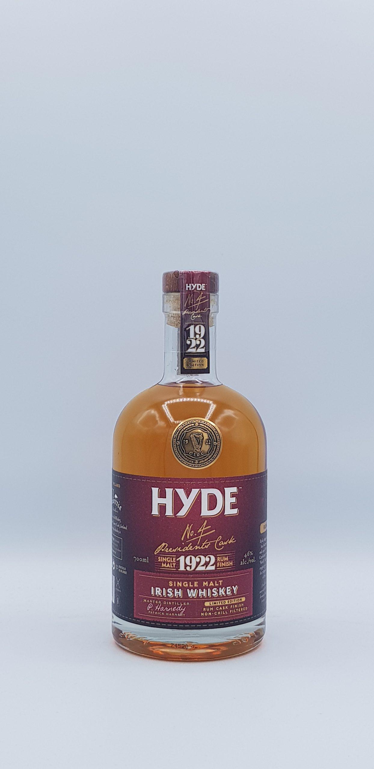 Hyde N°4 Single Malt 6 Rum Finish 46° 70cl