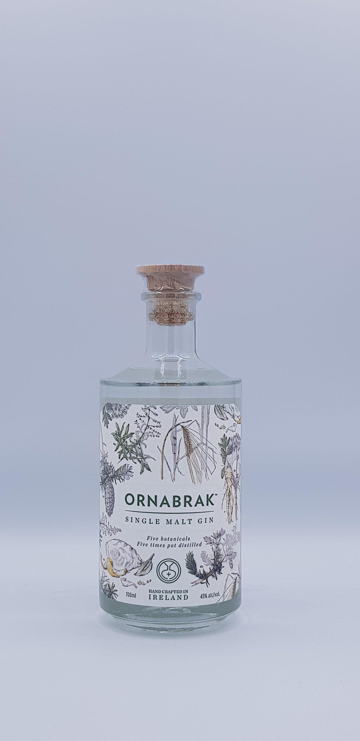 Gin Ornabrak Single Malt 43° 70cl