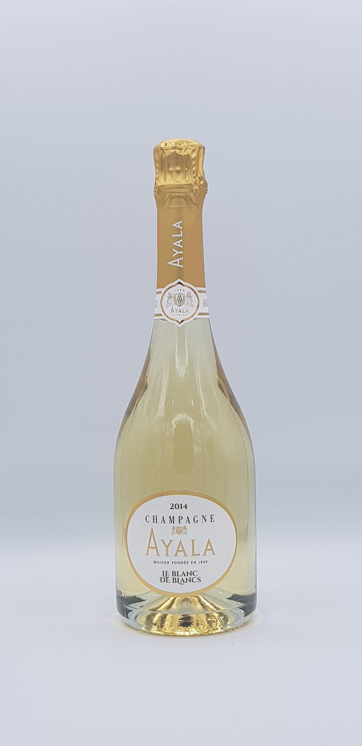 Champagne Ayala blanc de blanc 2014 étui