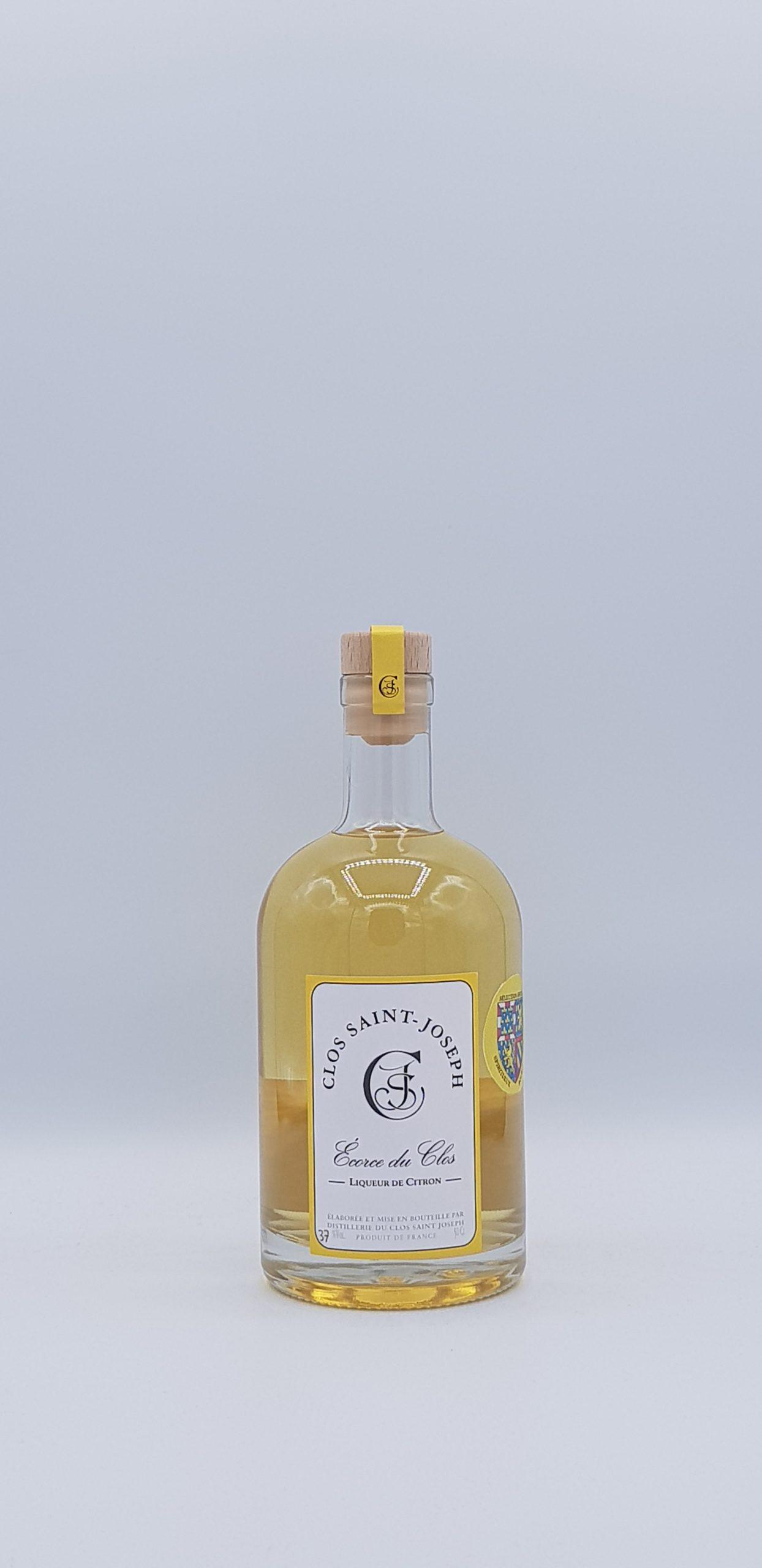 Ecorce du Clos Liqueur de Citron