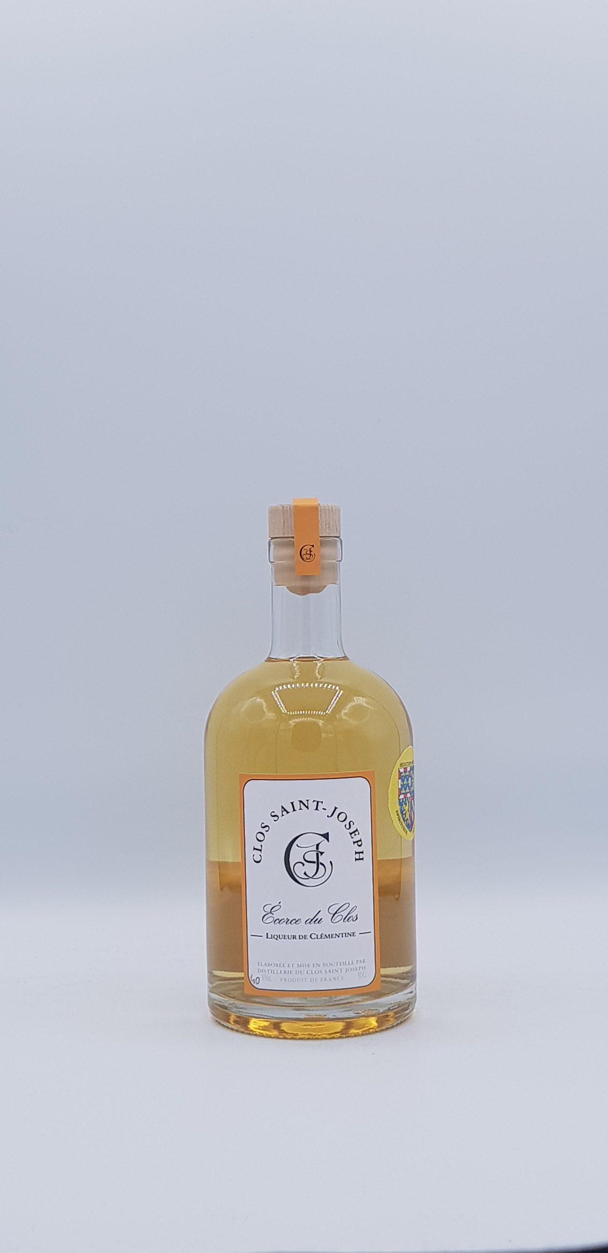 Ecorce du Clos Liqueur de Clémentine