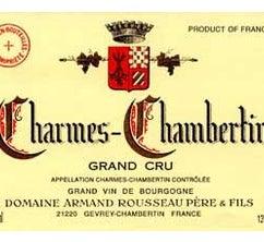 Charme Chambertin Grand Cru 2017 Domaine Armand Rousseau